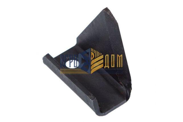 001900 Nóż pojedynczy przystawki Geringhoff PCA (napawanie) - AGRO-DOM Ukraina