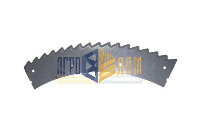 K13101080 Ніж лівий жатки Claas Orbis 600 & 900 (наплавка) - АГРО-ДОМ Україна