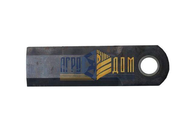 71383934 Нож измельчителя прямой комбайна Massey Ferguson (закалка) - АГРО-ДОМ Украина