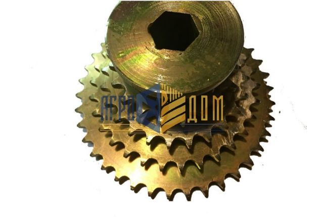 NO1684CO Blok kół zębatych skrzyni siewnika rzędowego Kuhn serii Planter (hartowanie) - AGRO-DOM Ukraina
