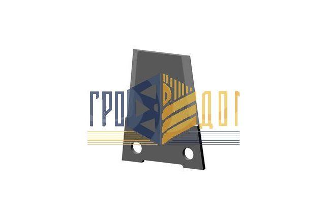 197124C1 Nóż rozdrabniacza kombajnu Case (hartowanie) - AGRO-DOM Ukraina